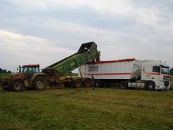 Produit de Transport de pomme de terre benne tapis