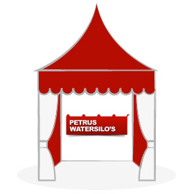 Stand de Petrus Watersilo's